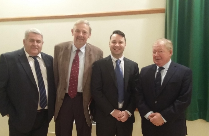 North west hampshire candidates